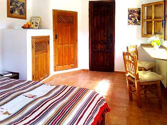 "Photo of a guest room of the casa rural ""Sierra y Mar"""